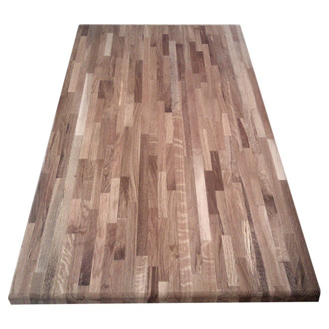 Comptoir en bois d 39 acacia joint 25 1 2 x 72 naturel - Acacia bois de chauffage ...