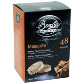 Wood Briquettes for Smoker - Mesquite - 48-Pack