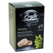 Wood Briquettes for Smoker - Hickory - 48-Pack