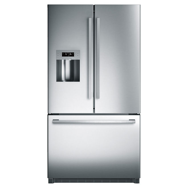 French Doors Refrigerator 25.5 cu. ft. - Stainless