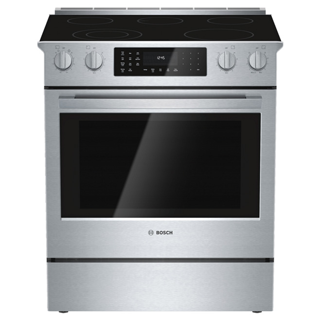 Slide-In Electric Range - 4.6 cu. ft. - Stainless Steel