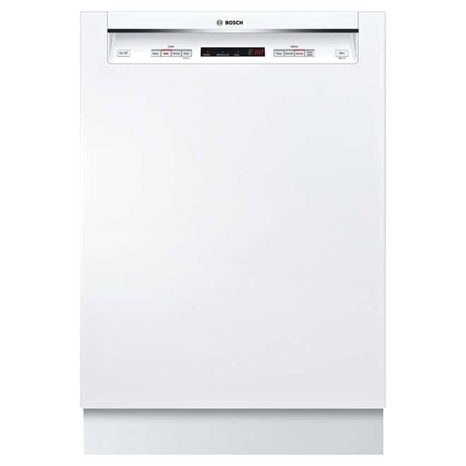 "24"" Recessed Handle Dishwasher - 300 Series - White"
