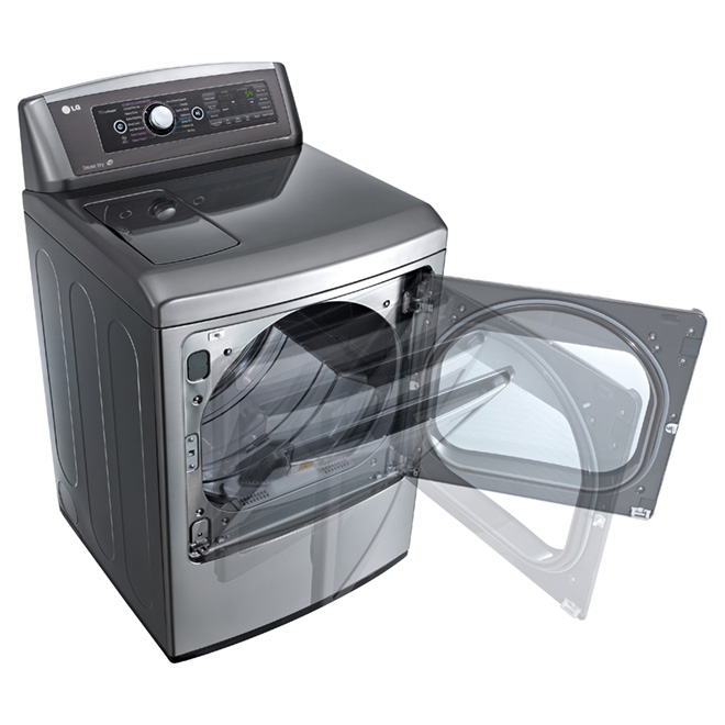 Dryer with EasyLoad™ Door - 7.3 cu. ft. - Graphite Steel