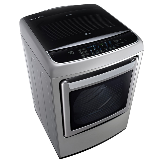 Dryer with Front Control Design -7.3 cu. ft.- Graphite