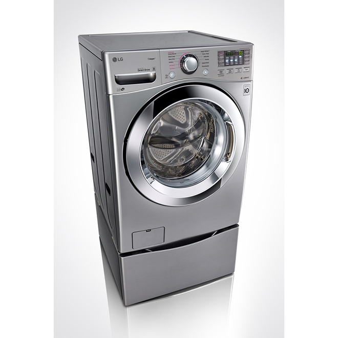 Front Load Washer with Steam - 4.5 cu.ft.- Graphite