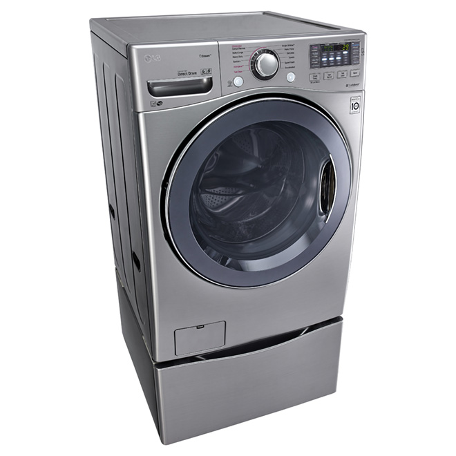 Front Load Washer with TurboWash(TM) - 5.2 cu.ft. - Graphite