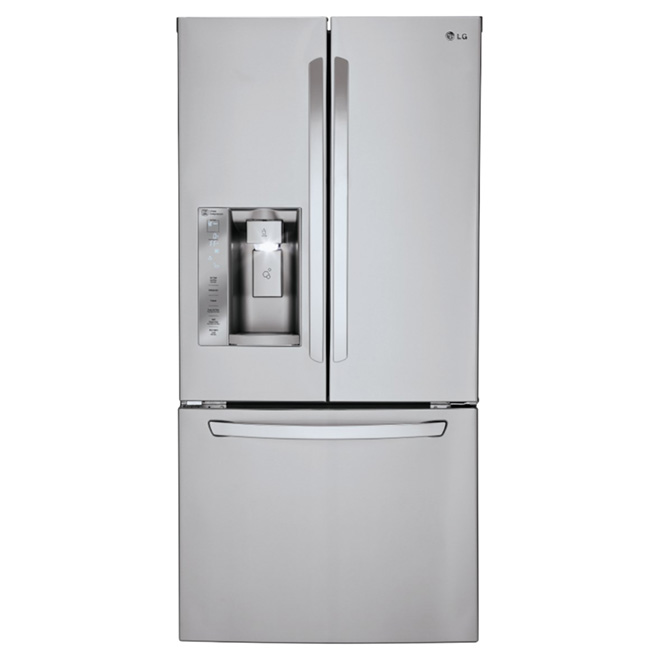 French Doors Refrigerator 24.2 cu. ft. - Stainless