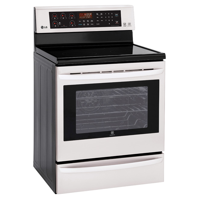 Electric Convection Range - 6.3 cu.ft. - Stainless Steel