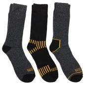 Work Socks - Large Size - Pack of 3 pairs