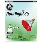 Outdoor PAR38 Bulb - 85 W - Dimmable - Red