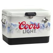 Coors Light Steel Cooler - 85 Can Capacity - 51L