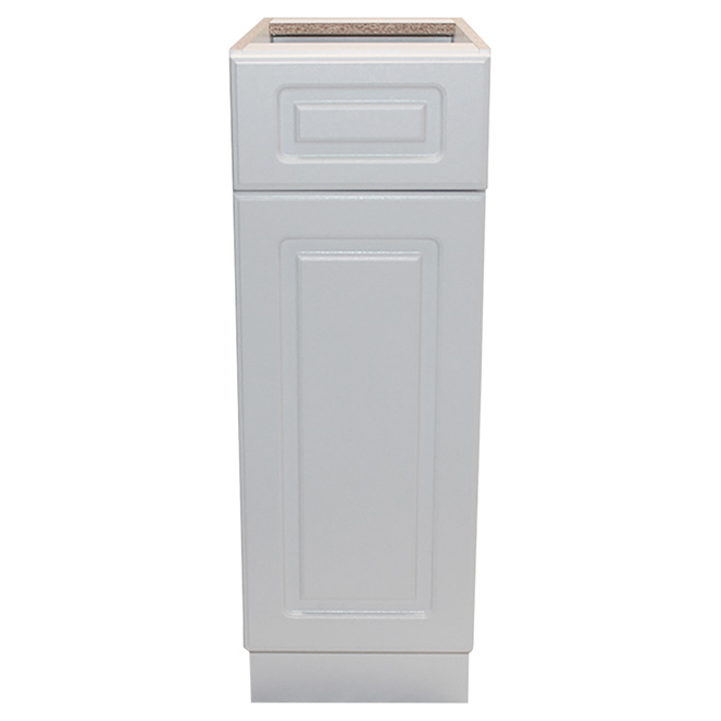 "Base Cabinet - Wilshire - 1 Door, 1 Drawer - 12"" - White"