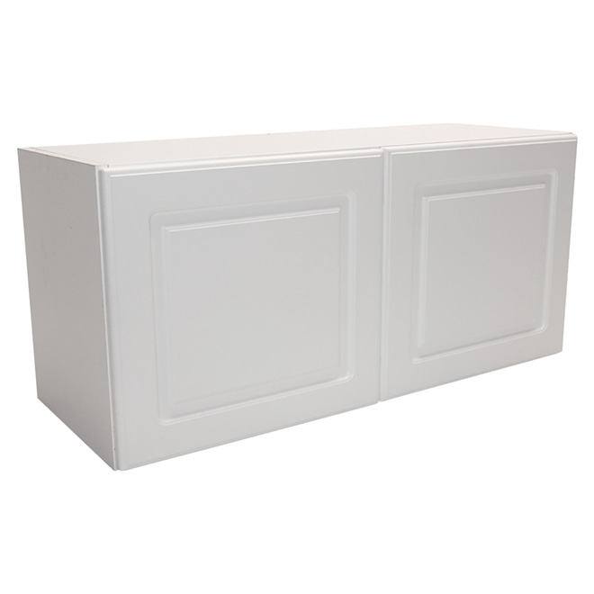 "Wall Cabinet - Wilshire - 2 Doors - 33"" - White"