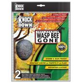 Wasp Bee Gone Inflatable Artificial Wasp Nests - 2 Pack