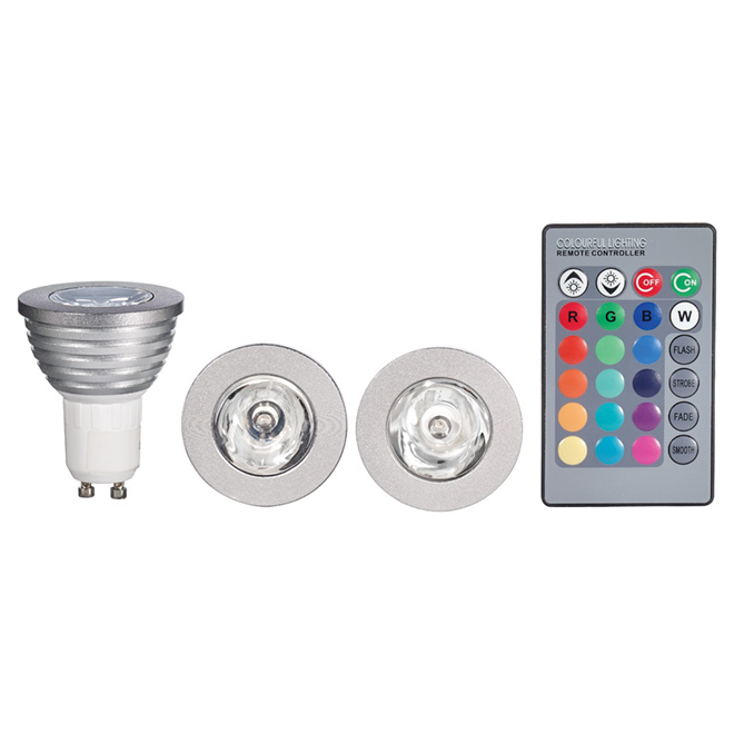 Pack of 3 LED bulbs