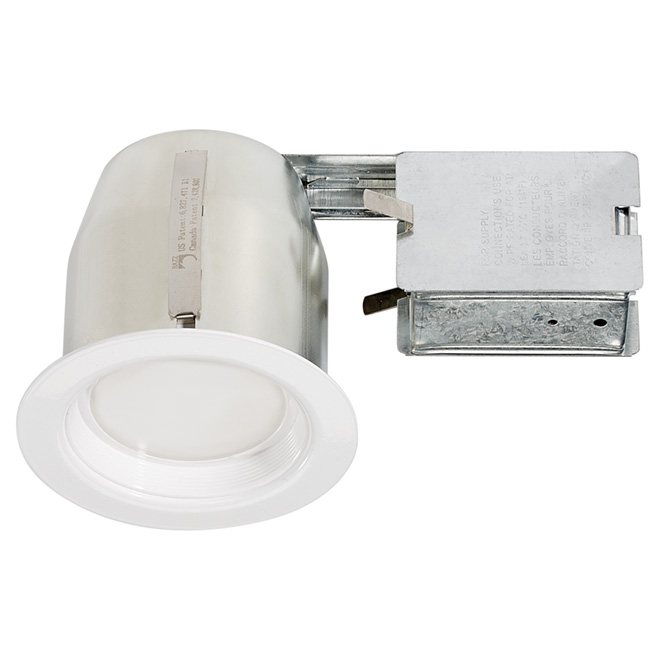 Integrated LED Recessed Fixture - 4""