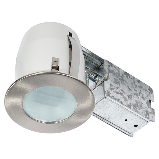 Shower LED Recessed Light - 7 W - Brushed Steel