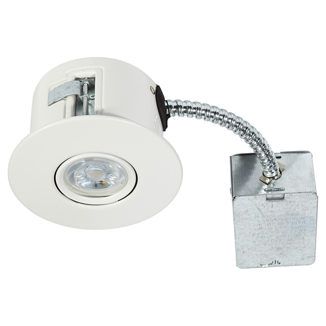 Directional Recessed Light - FLEX - 7W LED - Matte White