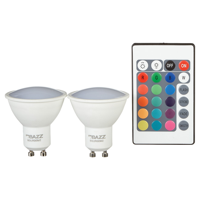 LED Bulb 3.5 W GU10 - Dimmable - Soft White - 2-Pack