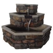 LED Hand-Crafted Corner Fountain - 25