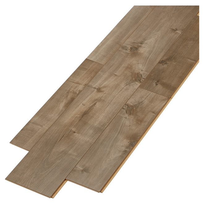 Laminate Flooring - HDF - 12 mm - Random - Shadow Grey