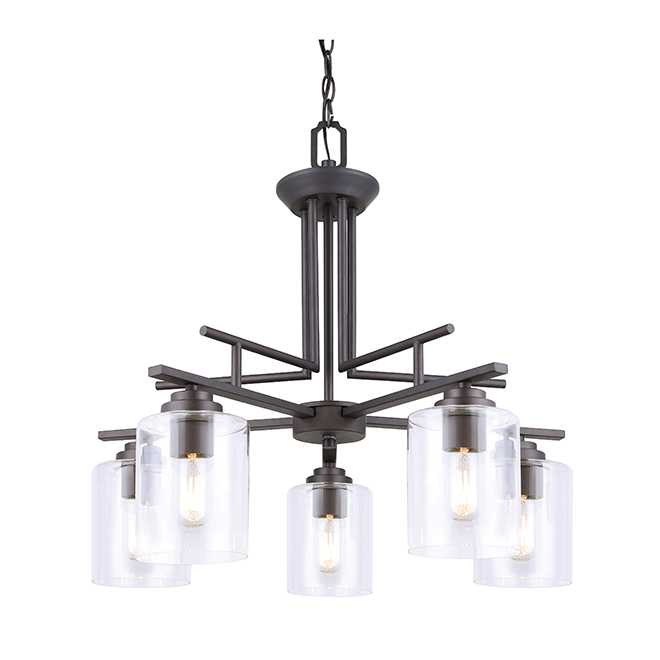 Montebello pendant light rona for Luminaire suspendu moderne