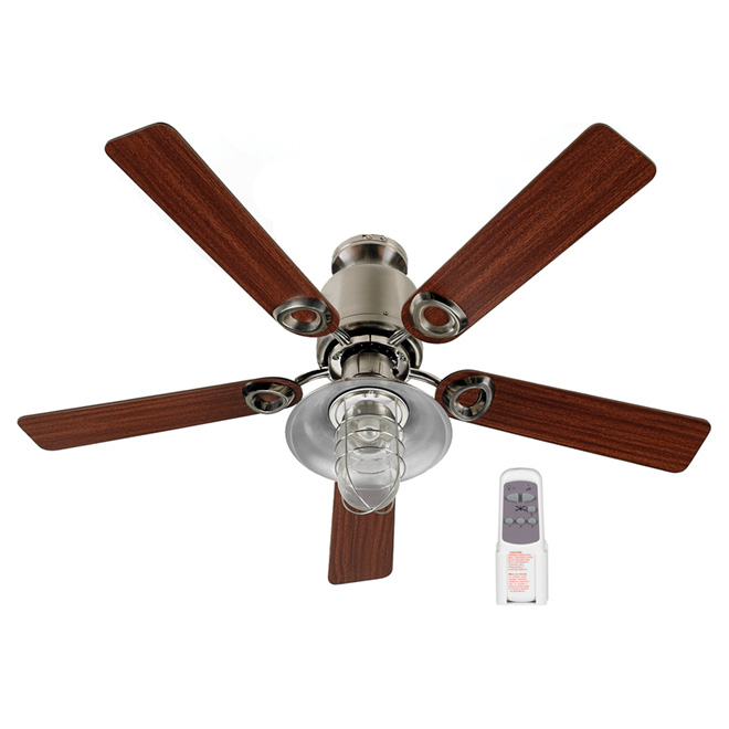 """Sawyer"" 5-Light 5-Blade Ceiling Fan - 48"""