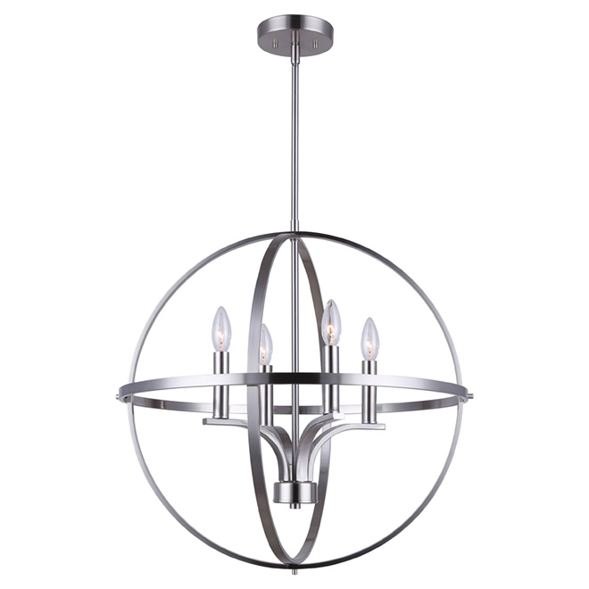 """Arizona"" 4-Light Chandelier"