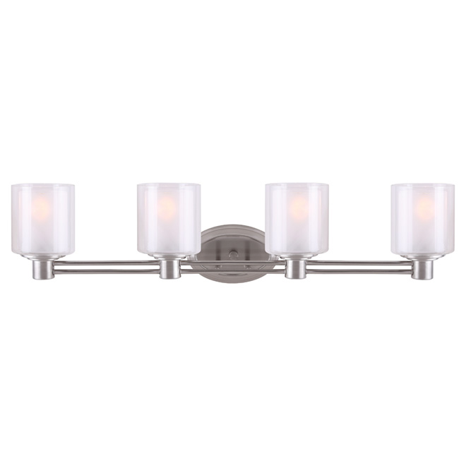 Perth 4-lights Wallsconce - Brushed Nickel