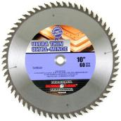 Circular Saw Blade - 60-tooth - 10