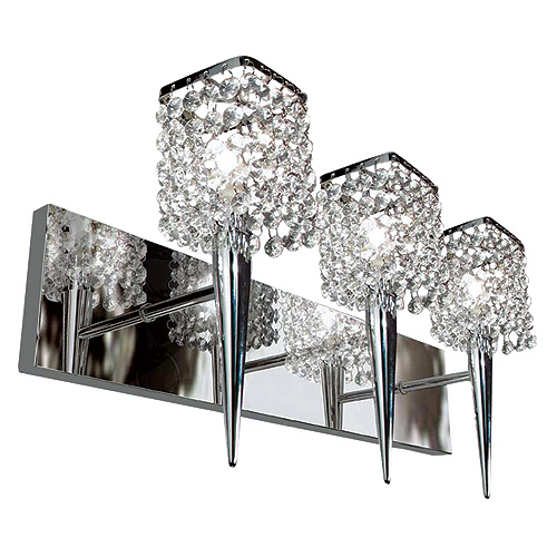 """Glam Sephora"" 3-Light Wall Sconce"