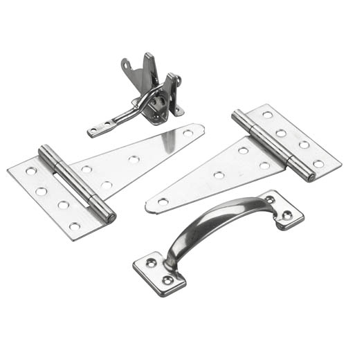 Gate hardware set