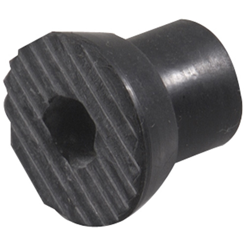 Black Rubber Tip for Flip-Down Door Stop