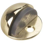 Low-Profile Dome Door Stop Antique Nickel - 1 3/4'' x 1''