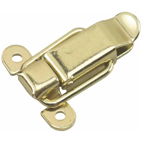 Lockable draw latch