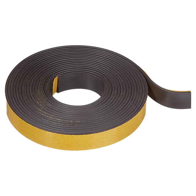 "Adhesive Magnetic Strip - 1/2"" x 10'"