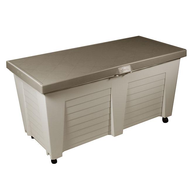 Coffre pour poubelle exterieur top abri cache conteneur simple with coffre pour poubelle - Coffre de rangement exterieur castorama ...