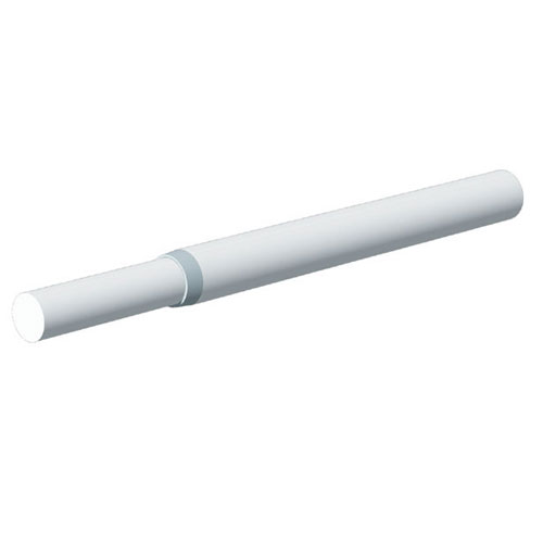 "Extendable Closet Rod 18""-30"" - White"