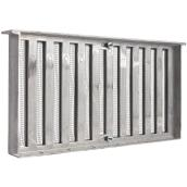 Aluminium Foundation Vents With Shutter - 16