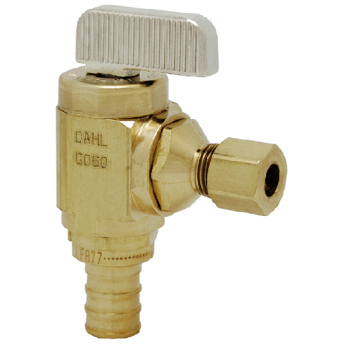 Straight mini-ball valve