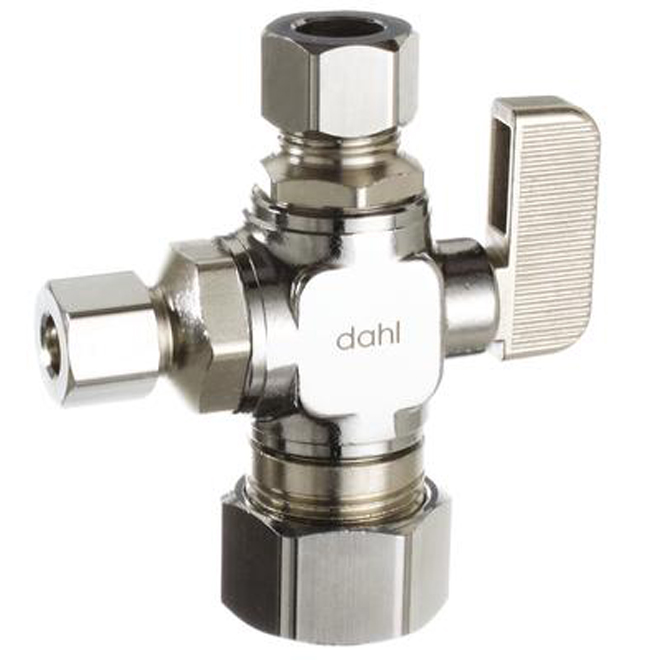 Dual Outlet Straight Valve