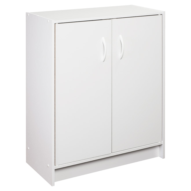 armoire de rangement 2 portes rona. Black Bedroom Furniture Sets. Home Design Ideas