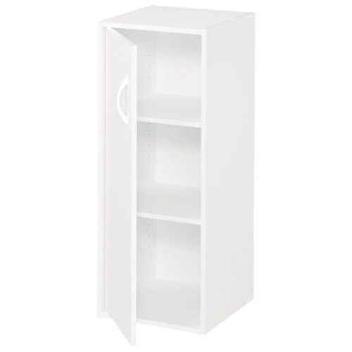 "1-Door 3-Shelf Organizer 12"" x 31"" - White"