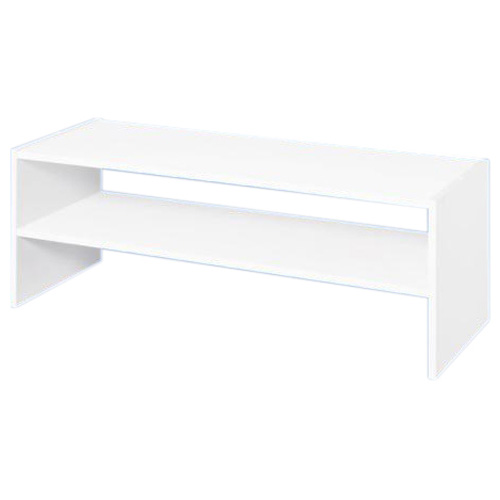 "1-Shelf Horizontal Stackable Organizer 31"" - White"