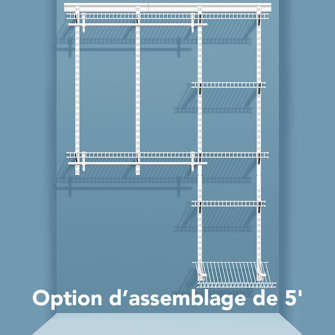 organisateur pour garde robe rona. Black Bedroom Furniture Sets. Home Design Ideas