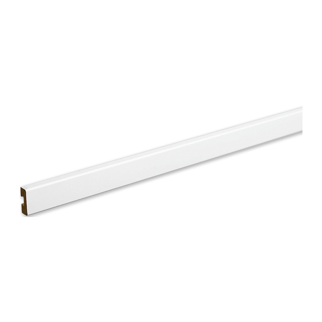 Front for Wire Shelf - White Wood