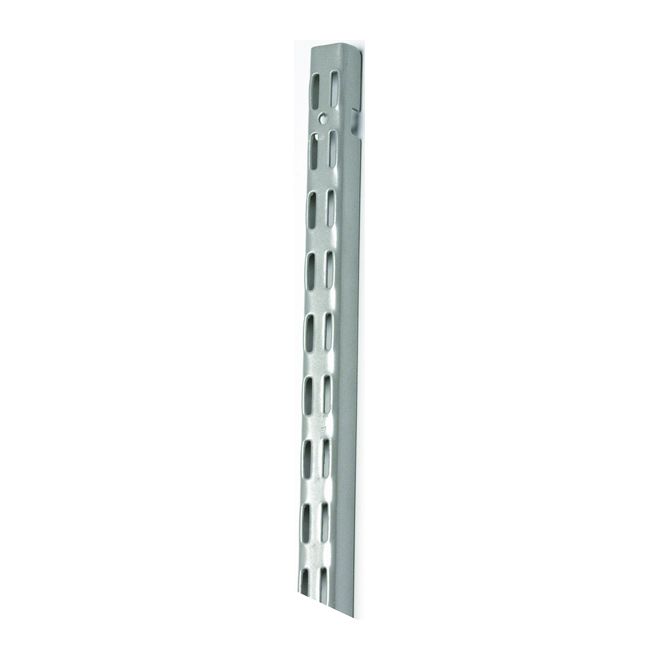 Rail vertical « ShelfTrack » de 30 po, nickel