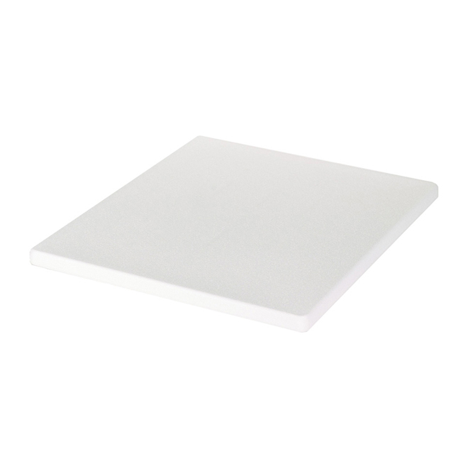 Plastic Drawer Top - White