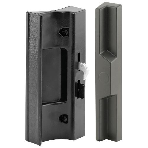 poign e de porte fen tre en plastique noir rona. Black Bedroom Furniture Sets. Home Design Ideas