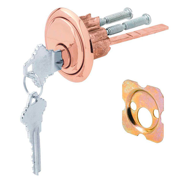 Brass Finish Cylinder Lock
